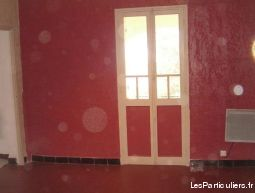 t2 + terrasse + jardin + local atelier - toulon immobilier appartement indre