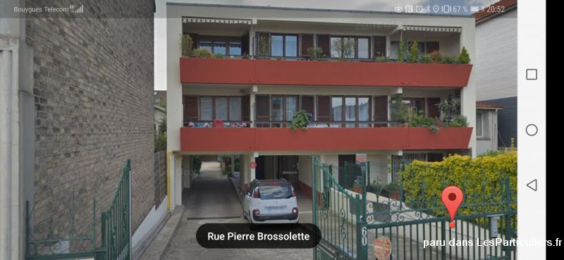 Apparemment T3 + Parking Immobilier Appartement Hauts-de-Seine
