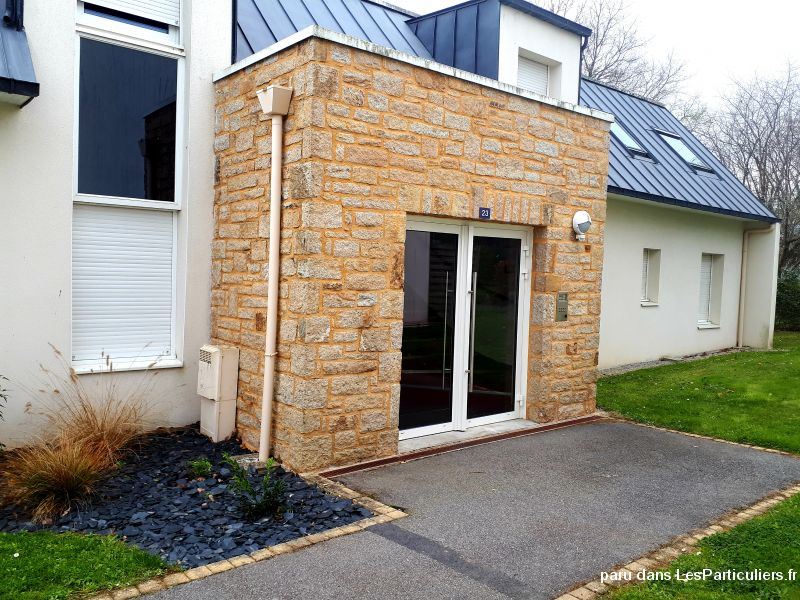 Appartement Arcal rez jardin terrasse T2 200m mer Immobilier Appartement Morbihan