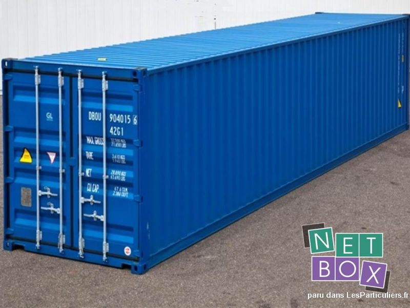 Container occasion, 12 mètres extra haut 4096DC