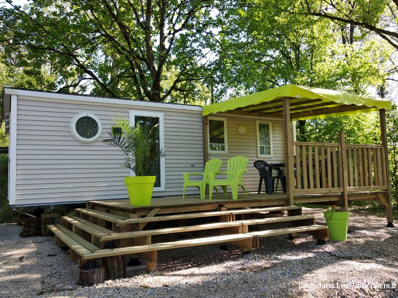 MOBIL HOME en RESIDENCE au CAMPING AIN L'ESCAPADE Immobilier Mobil Home Ain