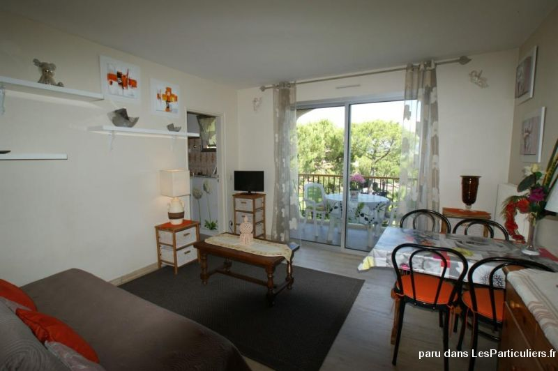 CHARMANT STUDIO MEUBLE - RES. STANDING SECURISE  Immobilier Appartement Alpes-Maritimes