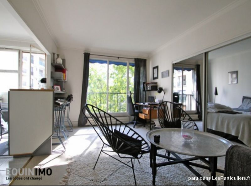 Appartement 46m2 Paris 16ieme location immediate