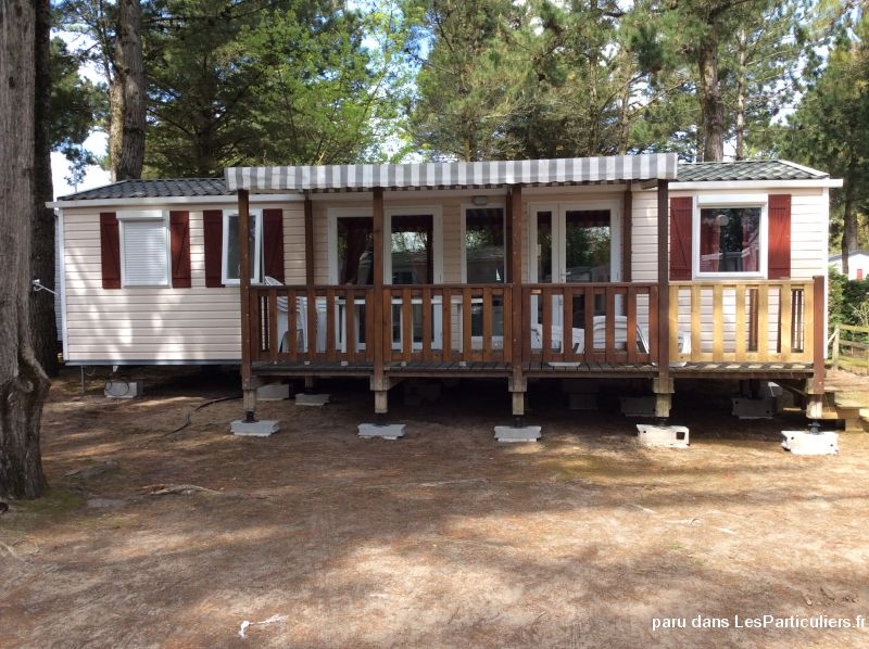 Mobilhome st jean de monts camp bois Masson
