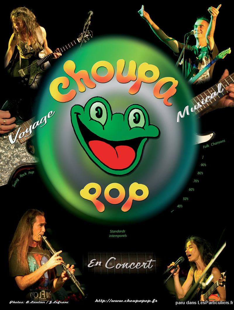 Animation musicale concert / Choupa Pop Duo