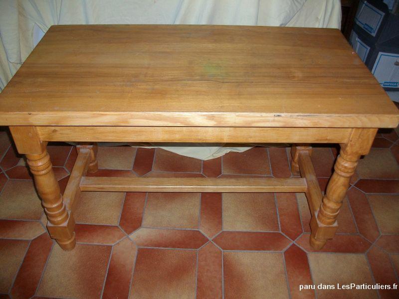 Table basse de salon en bois clair Maison et Jardin Ameublement Bas-Rhin
