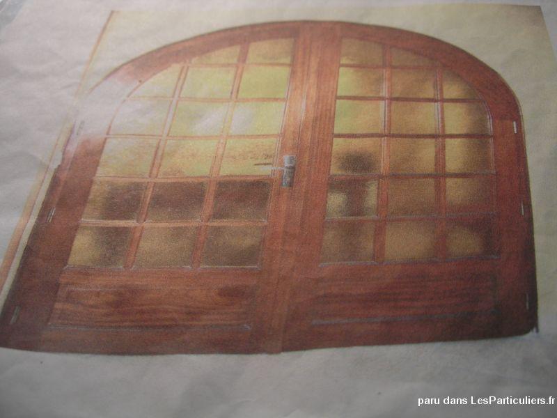 Porte vitrée Maison et Jardin Eure-et-Loir