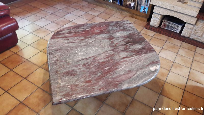 Table salon marbre Maison et Jardin Puy-de-Dôme