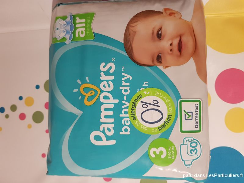 Couches pampers baby- dry