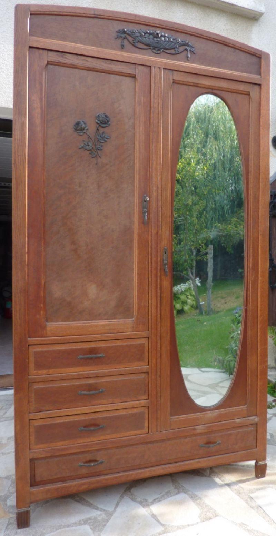 Armoire poque 1920 1930 maison et jardin essonnes for Garde meuble essonne
