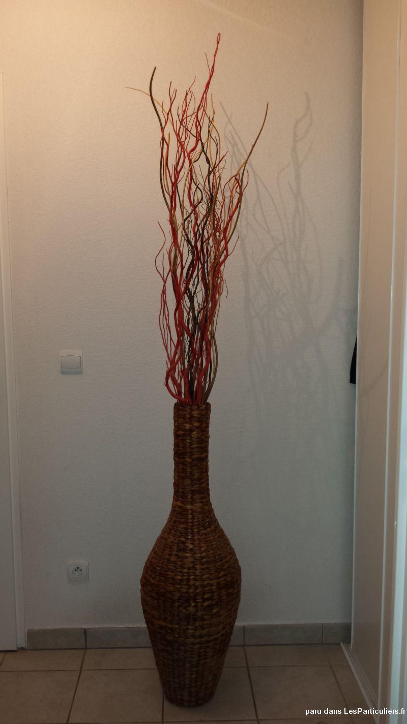 grand vase d coration tige de bois maison et jardin h rault