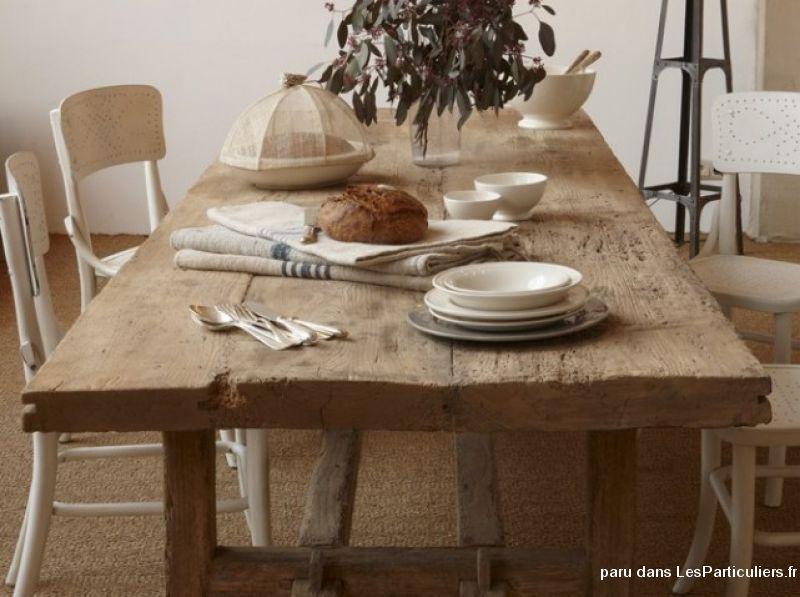 table de ferme maison et jardin maine et loire. Black Bedroom Furniture Sets. Home Design Ideas