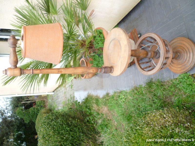 Lampe de salon hêtre Maison et Jardin Décoration Gironde