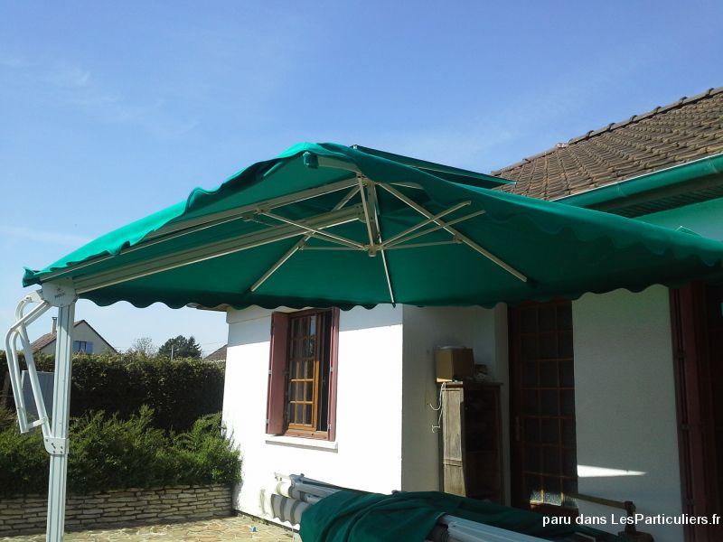 Tr s grand parasol haut de gamme maison et jardin eure et loir - Grand parasol ...