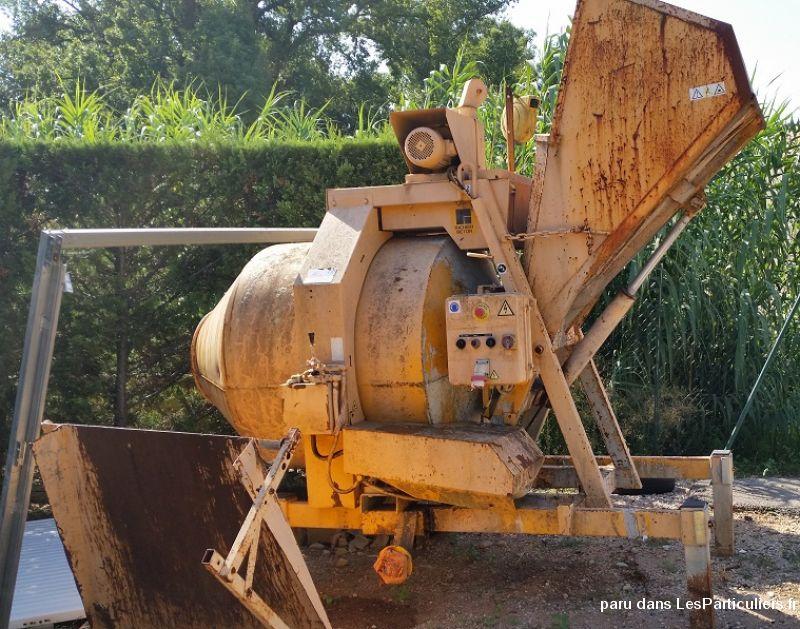B tonnire richier beton 740 litres maison et jardin var - Prix m3 beton fait main ...
