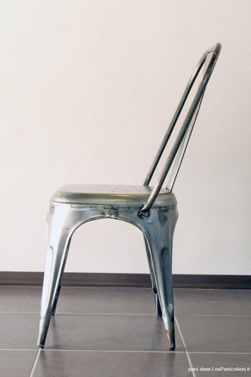 chaise vintage industrielle usine maison et jardin drme. Black Bedroom Furniture Sets. Home Design Ideas