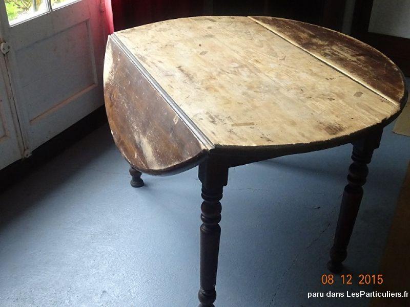Table ancienne, ronde, en bois Maison et Jardin Ameublement Eure