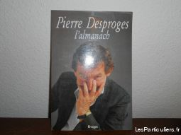 poster cartonn� de pierre desproges, 1988  maison et jardin decoration landes