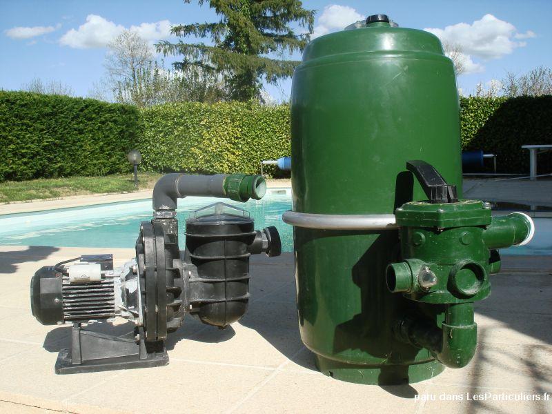 Materiel de filtration piscine maison et jardin gers for Materiel filtration piscine