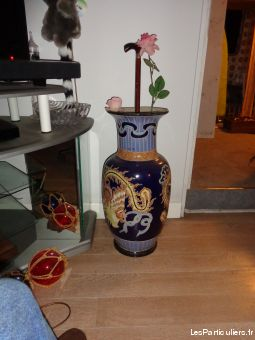 grand vase d�co asiatique  maison et jardin antiquite c�tes-d'armor