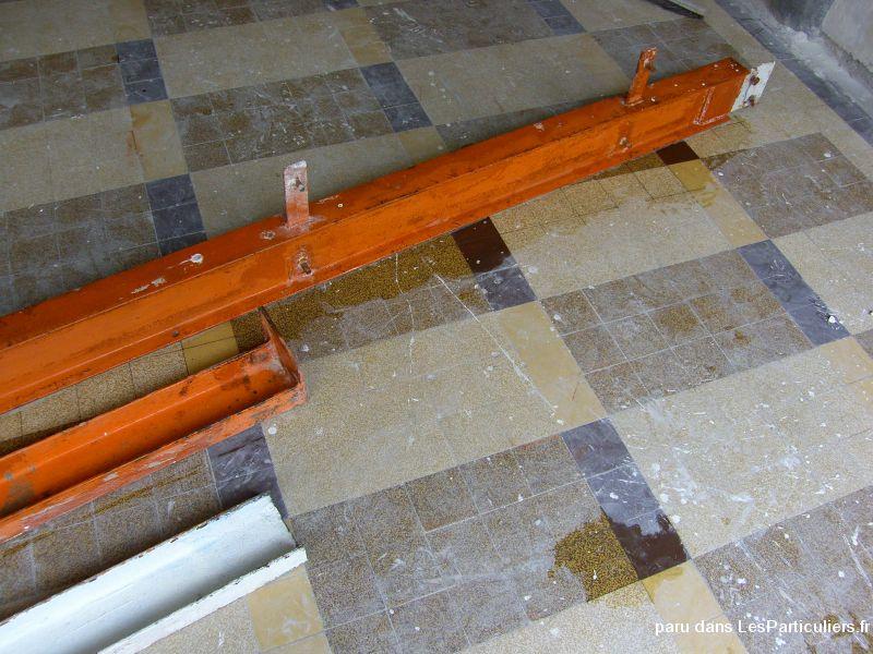 Portique en poutre acier ipn et fer u maison et jardin for Garde meuble le havre