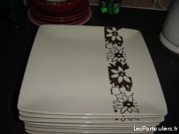 Lot de 8 assiettes