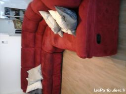 Canap� d'angle panoramique relax 7 places