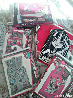 housse de couette monster high maison et jardin linge de maison finist�re