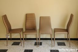 4 Chaises Neuves Style Moderne