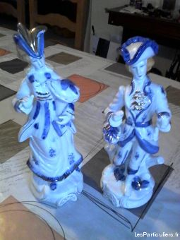 Statuette couple porcelaine