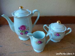 pot � lait et lot cafeti�re + pot � lait + sucrier maison et jardin arts de la table bas-rhin