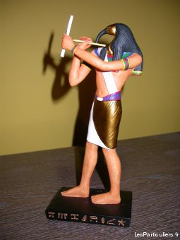 statuette egyptienne thoth maison et jardin decoration jura