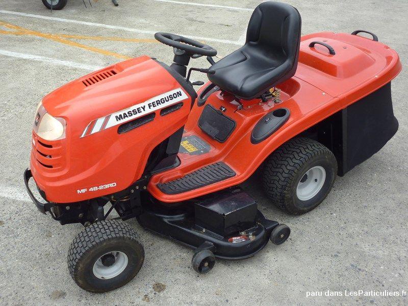tracteur tondeuse massey ferguson mf 48 23 rd de maison et. Black Bedroom Furniture Sets. Home Design Ideas