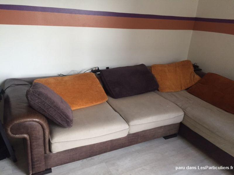 canape d 39 angle couleur ethnique maison et jardin seine saint denis. Black Bedroom Furniture Sets. Home Design Ideas