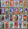 clos78 timbres  france series celebrites ** sport loisirs et culture collection yvelines