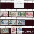 clos78 – timbres  france 1960*-1961*-1962*-1963* sport loisirs et culture collection yvelines