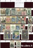 clos78 – timbres  france 1964*-1965*-1966*-1967* sport loisirs et culture collection yvelines