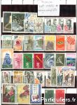 clos78 – timbres  france 1972*-1973*-1974*-1975* sport loisirs et culture collection yvelines