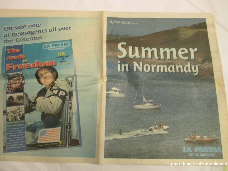 journal summer in normandy, d day 06 / 2009 sport loisirs et culture collection landes