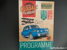 programme classic festival nogaro circuit autos  sport loisirs et culture collection landes
