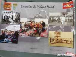 poster circuit auto nogaro, volant motul 10 / 2014 sport loisirs et culture collection landes