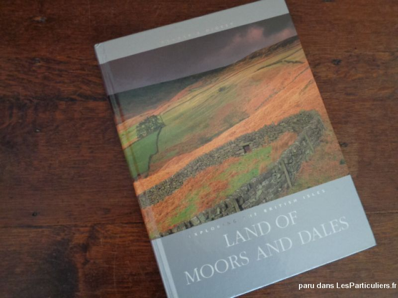 livre land of moors and dales (british isles) sport loisirs et culture dvd cd livre landes