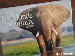 calendrier 2011 / 12 le monde des animaux 16 photos sport loisirs et culture collection landes