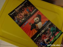 5 cartes postales (pub) sport loisirs et culture collection landes