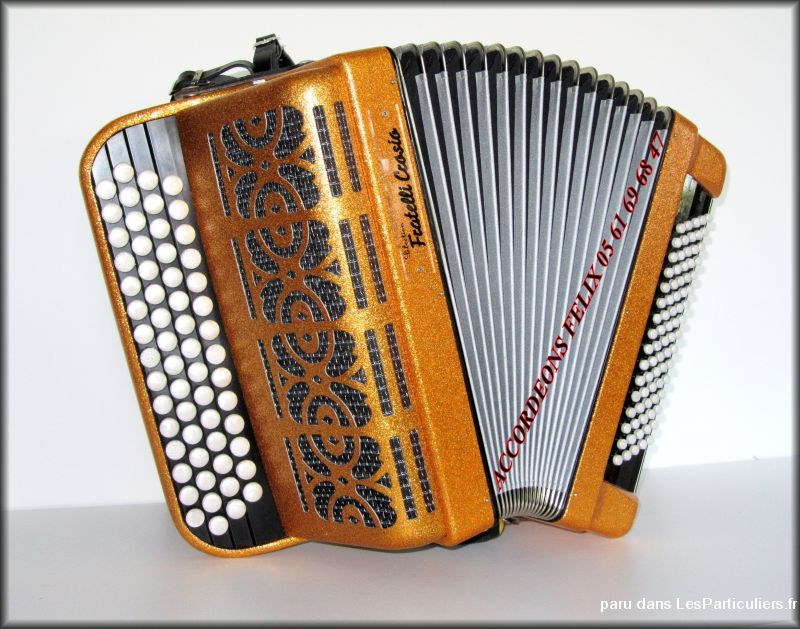 accordeon fratelli crosio 80 basses tbe  sport loisirs et culture instruments de musique ari�ge