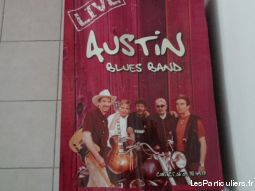 Affiche groupe AUSTIN blues band