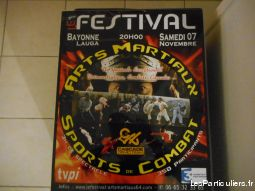 affiche festival arts martiaux sports de combat   sport loisirs et culture collection landes