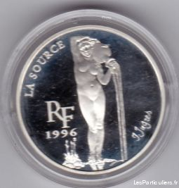 rare 10 francs 1, 5 euros en argent la source sport loisirs et culture collection côte-d'or