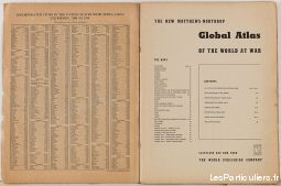 Matthews-Northrup Atlas of the World at War