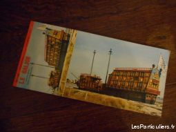 carnet de 10 cartes postales le galion plouharnel sport loisirs et culture collection landes